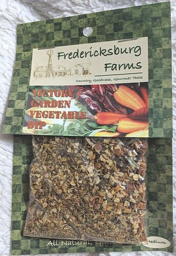 Fredericksburg Farms All Natural And Gluten Free Victory Garden Vegetable Dip