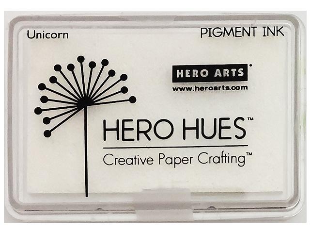 Hero Arts Hero Hues Unicorn White Pigment Ink Pad
