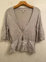 Womens VICTORIAS SECRET LUXURY BLEND X77 Gray Sweater Size S/M - $24.74