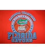 NCAA Florida Gators 2006 Men's Basketball Champs Graphic Print T Shirt XXL - $15.90