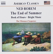 Rorem: Chamber Music - The End of Summer, Book of Hours, Bright Music - $24.88