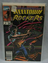 Marvel Comics Steeltown Rockers #1 April 1990 With Plastic Cardboard Backing - $1.49