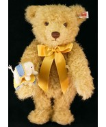 2015 Steiff 135 Year Jubilee Mohair Teddy Bear 034046 Limited Edition 538/1880 - $150.00