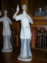 "Lladro Dentist Figurine~Retired~GLOSS FINISH~13.5""Tall~1971-1978~MINT~Gr... - $949.99"