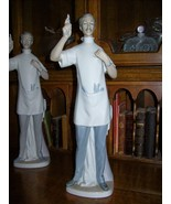 "Lladro Dentist Figurine~Retired~GLOSS FINISH~13.5""Tall~1971-1978~MINT~Gr... - $742.49"