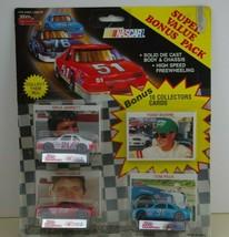 1991 Nascar Racing Champions Diecast + Cards Jarrett, Leslie, Peck - $12.01