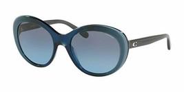 Coach Women Sunglasses HC8259F 55338F 56 Blue Laminate - $89.09