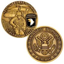 NEW U.S. Army 101st Airborne Division Screaming Eagles Challenge Coin - $14.99