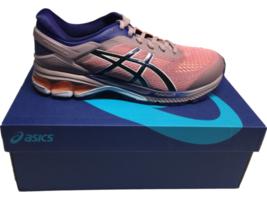 NIB ASICS Women's Gel-Kayano 26 Running Shoes Violet Blush / Blue Sneake... - $361.27