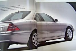 2000 Mercedes s class s500 s430 owners sales brochure catalog new original - $19.79