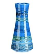 Bitossi Ceramiche Home Decor Rimini ZZ99983 Vase Vintage Blu Blue Size OS - $123.69
