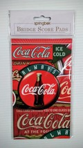 Coca-Cola Bridge Score Pad - BRAND NEW! Free Shipping - $5.20
