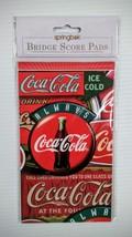 Coca-Cola Bridge Score Pad - BRAND NEW! Free Shipping - $5.20