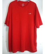 Champion Duo Dry Men's Size XXL Classic Red Tee T-Shirt Short Sleeves St... - $14.80