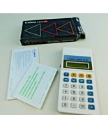 Canon Card LC-32 Electronic Calculator Box Instructions Vintage Pocket(t... - $24.74