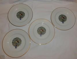 AVON 4 PC Partridge Pear Tree Dessert Plates Twelve 12 Days of Christmas - $16.82