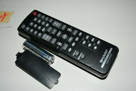 Sharp rrmcga286awsa audio OEM Remote Tested W Batteries very rare - $23.25