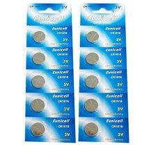 Eunicell CR1616 Lithium Blister Pack 3V 3 Volt Coin Cell Batteries (10 pcs) - $5.42