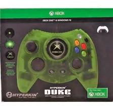 Hyperkin Duke Green Controller Throwback Xbox One Windows 10 Rare VHTF I... - $115.78
