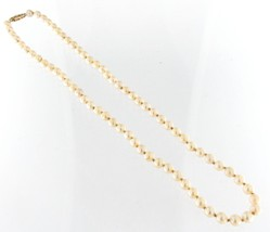 5.5- 6mm Women's 10kt Yellow Gold Necklace - $79.00