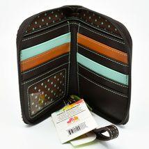 Chala Handbags Faux Leather Whimsical Koala Brown Zip Around Wristlet Wallet image 3