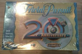 Trivial Pursuit 20TH Anniversary Edition Family Board Trivia Game~New & Sealed - $24.74