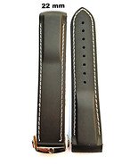22mm rubber strap band , clasp  for omega watch - $41.97