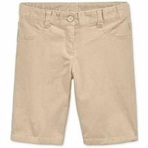 Nautica Girls' School Uniform Skinny Bermuda Shorts - Big Kid - $8.99