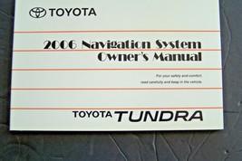 2006 Toyota tundra Owners navigation  Manual  new original   - $24.74