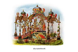 Knighthood - Mardi Gras Parade Float Design - Art Print - $19.99+