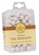 Mrs. Anderson's Baking Ceramic Pie Crust Weights, Natural Ceramic Stoneware - $8.72