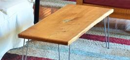 Coffee Table Handmade Natural American Elm Wood Slab Furniture Rustic St... - $665.68