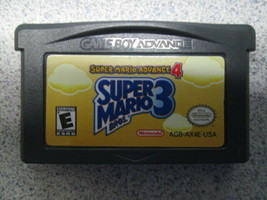 Nintendo Gameboy Advance Super Mario Advance 4 Super Mario Bros. 3 - $12.82