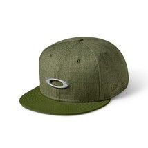 Oakley Men's O-Justable Metal cap 911508-86V Worm Olive New Era 9 Thirty... - $34.99