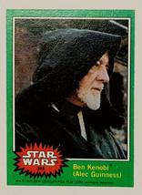 Hot! 1977 Topps Star Wars Ben Kenobi (Alec Guinness) Card #249 Green Series #4 - $73.50