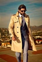 Hot Men's Motor Coats Leather Multibutton Halloween Leather Coat