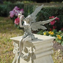 Fairy of the West Wind Sitting Statues Graden Decoration  - $29.99+