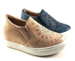 Wanted Opulent Hidden Wedge Slip On Sneakers Choose Sz/Color - $59.00