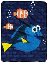 Disney Pixar Finding Dory, Bubbles in Water Micro Raschel Throw Blanket 46 x 60 - $45.99