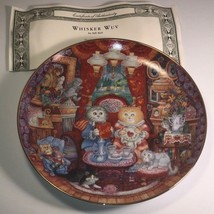 Franklin Mint Collectors Plate Cats Bill Bell Heirloom Whisker Wuv Love Kittens - $19.75