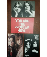 FIRST AID KIT 'Ruins' 4 Promo Postcards  - $9.95