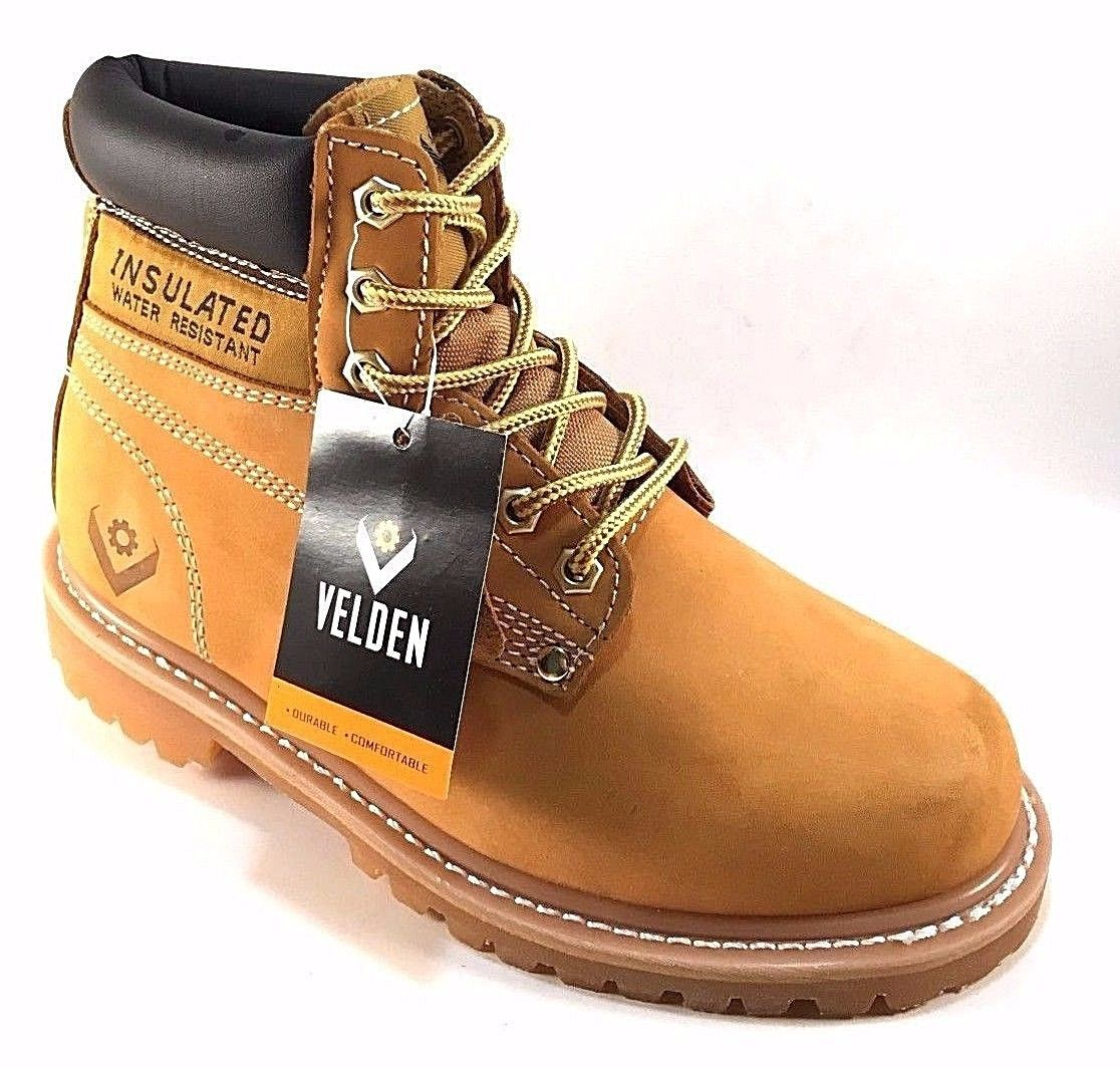 528964c937a2 S l1600. S l1600. Previous. Velden 6811 Wheat Leather Water Resistant  Insulated Wide Width Men s Ankle Boots