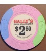 $2.50 Casino Chip. Bally's, Tunica, MS. V21. - $4.99