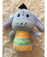 Hallmark Itty Bittys Eeyore Winnie The Pooh Purple Fleece Stuffed Animal... - $6.90