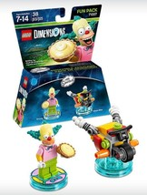 New Lego The Simpsons Dimensions Fun Pack 3 In 1 Krusty The Clown Adventure! - $5.84