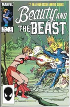 Beauty and the Beast Comic Book #3 X-Men Marvel Comics 1985 VERY FINE+ - $3.25