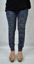 Current Elliott Stiletto Bandana Print Stretch Denim Jeans 25 Womens USA... - $48.96