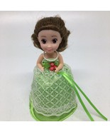 Haschel Toys Cupcake Surprise Doll with Green Dress-Doll Only - $8.59