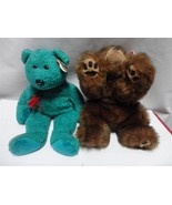 TY Beanie Buddies Wallace Bear 2000 and Baby Paws 1996 Lot of 2 - $8.61