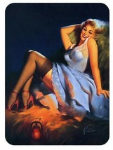 Nose Art Vintage Style Pin Up Girl Sticker . - $9.89